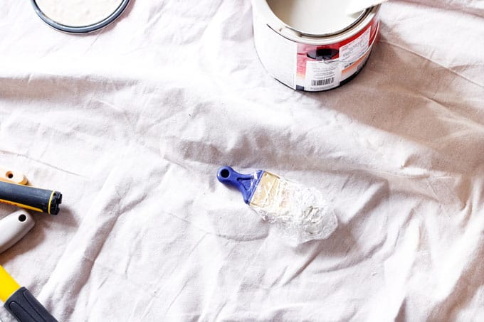 Beginner's Guide to Painting, DIY Paint, DIY Paint Project, Preserving Paint Brushes