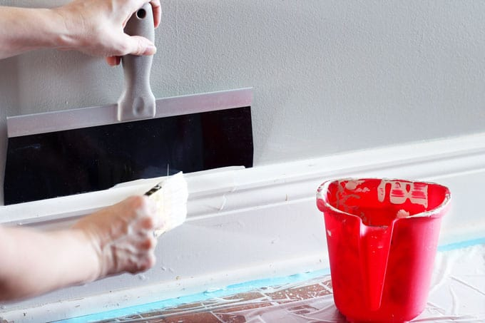 Painting Baseboards, DIY, DIY Paint, Home Projects, Painting, Baseboards, Sherwin Williams