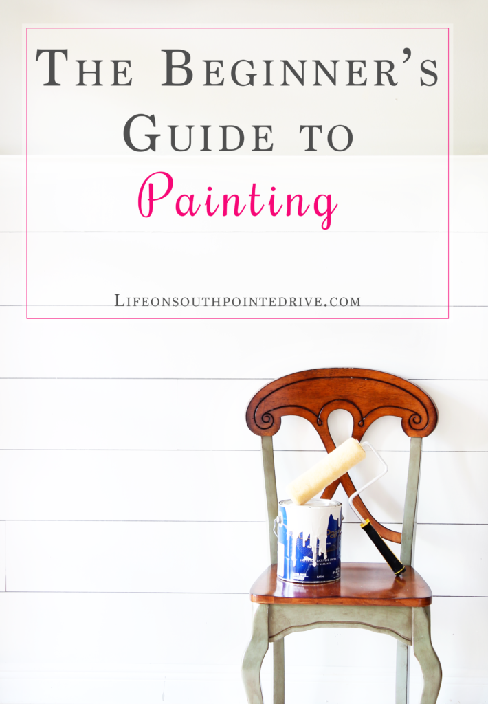 DIY, DIY Painting, DIY Home Projects, Beginner's Guide to Painting, Painting