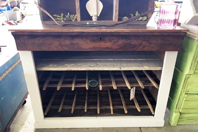 Flea Market, Flea Market Find, Farmhouse furniture, rustic, restoration DIY Furniture