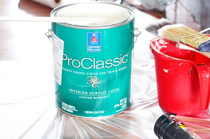 Painting Baseboards, Paint, DIY Painting, Painting, Home Projects, Baseboards, Semi-Gloss, Sherwin Williams