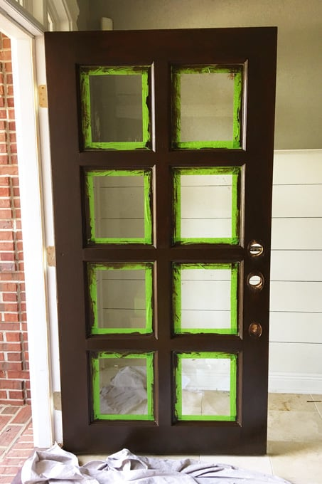 general finishes gel stain, gel stain, how to stain a door the easy way, general finishes