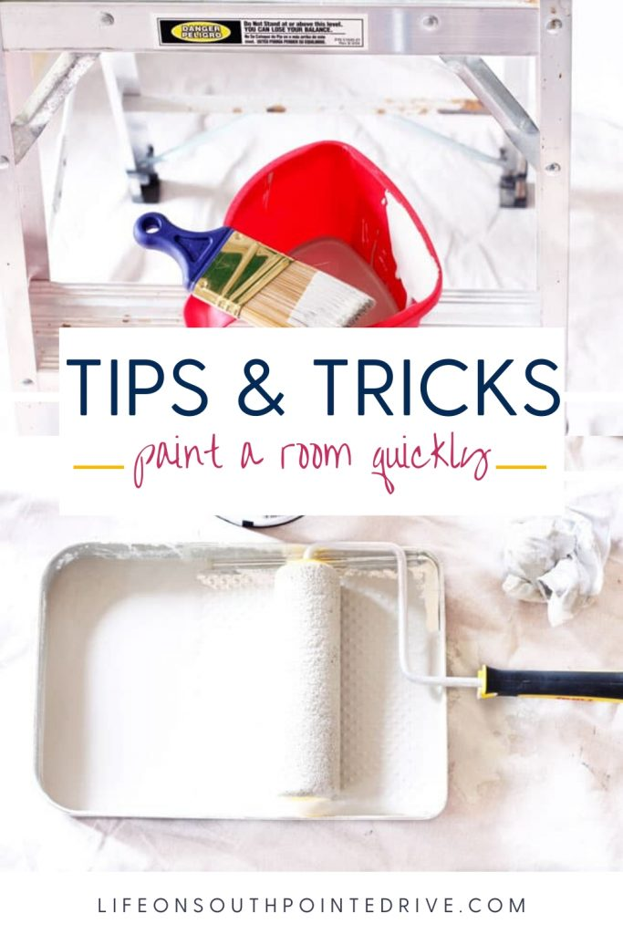 How to Paint a Room Quickly