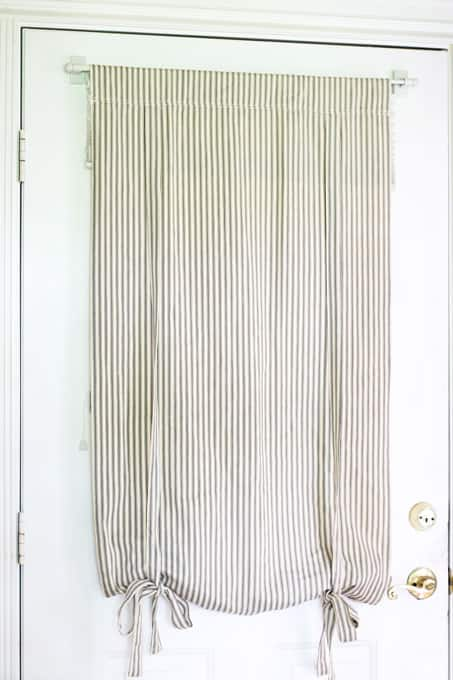 Cafe curtain, pottery barn curtains, curtains, entry way curtain