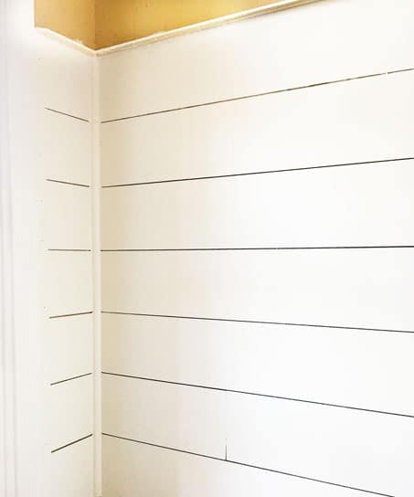 Install DIY Shiplap The Easy Way, DIY Shiplap, Cheap DIY Shiplap, Shiplap, Install Shiplap, Shiplap Entryway, How to Install Shiplap