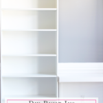 DIY Built-Ins with Ikea Billy Bookcases (One Room Challenge, Week 5)