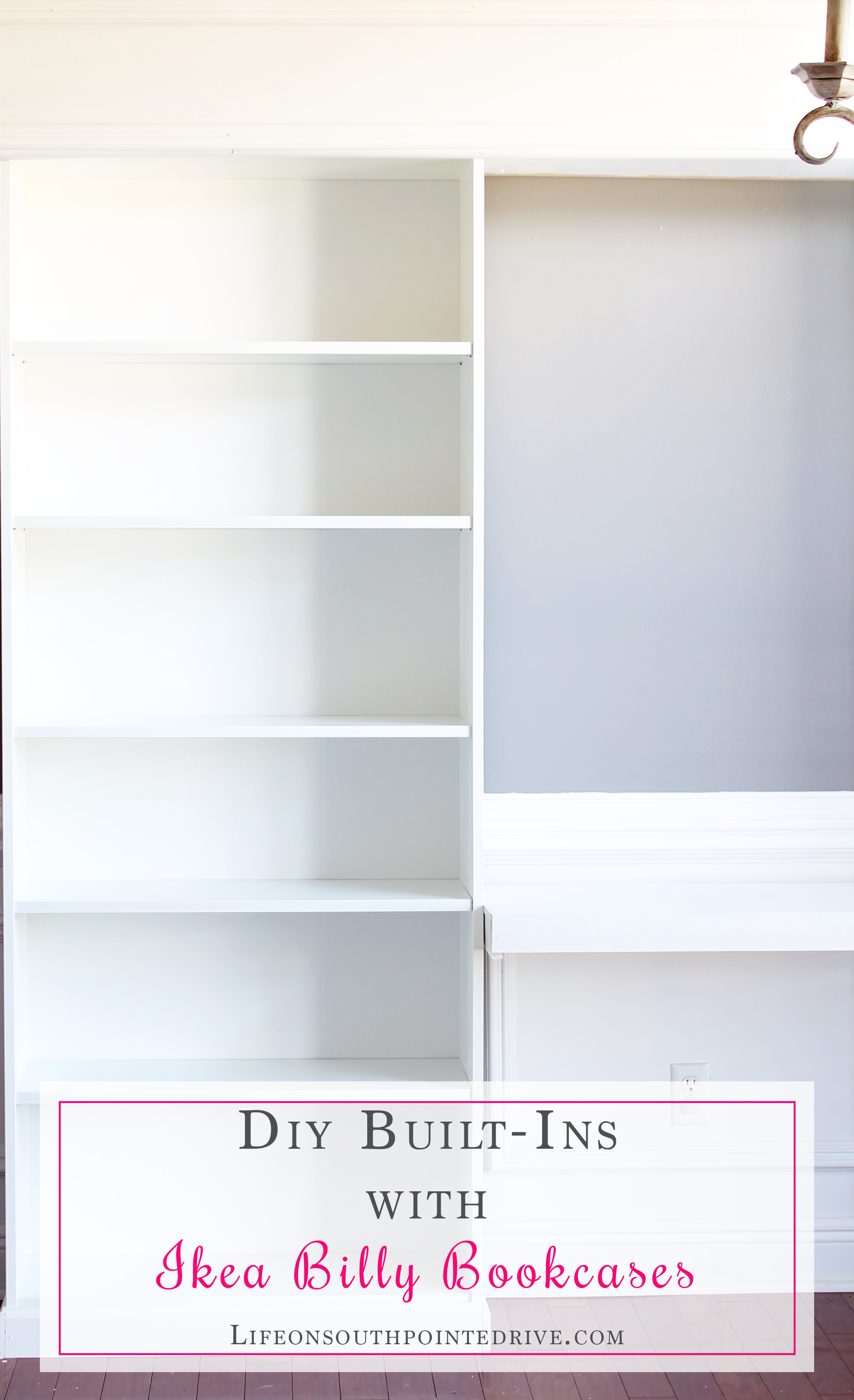 shelves living to hack a how ikea bookcase bookcases build simple gold marble