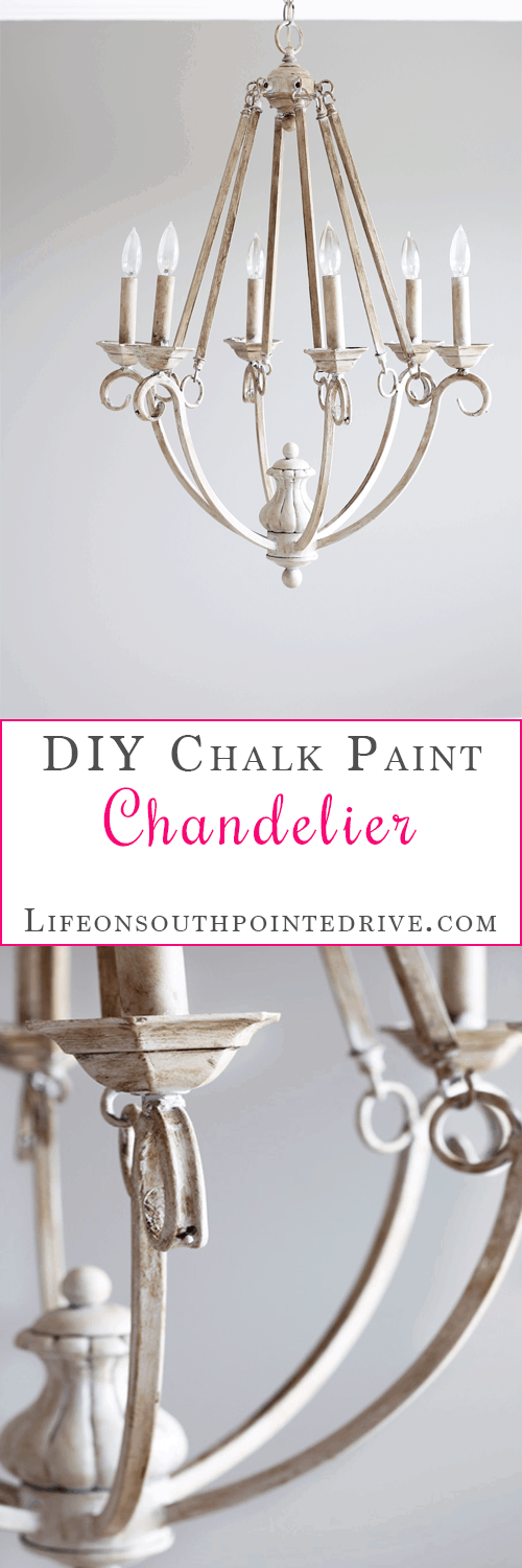 Diy chalk paint chandelier life on southpointe drive home diy chalk painted chandelier chalk paint chalk paint chandelier chandelier redo aloadofball