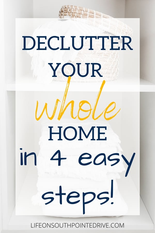 4 Easy Steps for Clutter Free Space