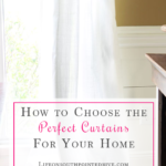 How to Choose the Perfect Curtains