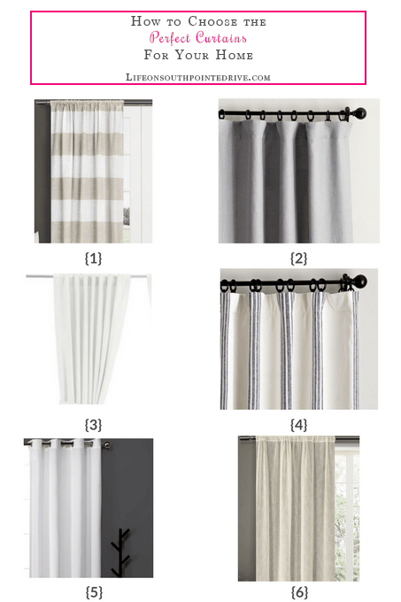 How to Choose the Perfect Curtains for Your Home, how to choose the perfect curtains, curtains for your home, choosing curtains, curtains for your space, curtains