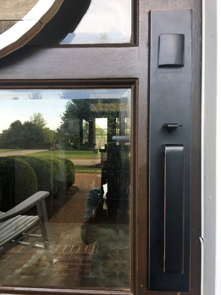 DIY - Updating Door Hardware, door hardware, inexpensive door hardware