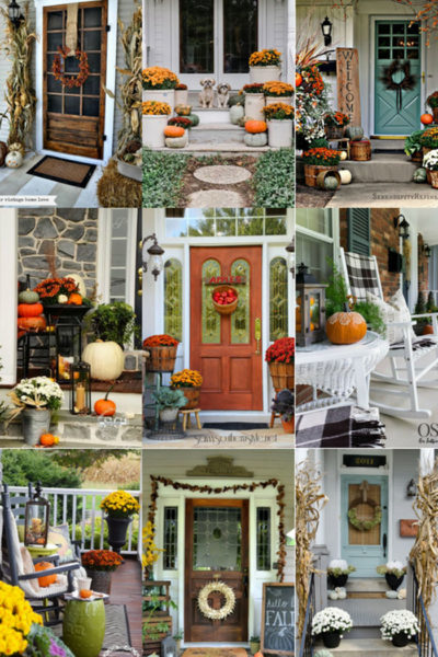 Home-15 Fall Porch Decor Ideas, Fall Decorations, Fall front porches, front porch, fall decor