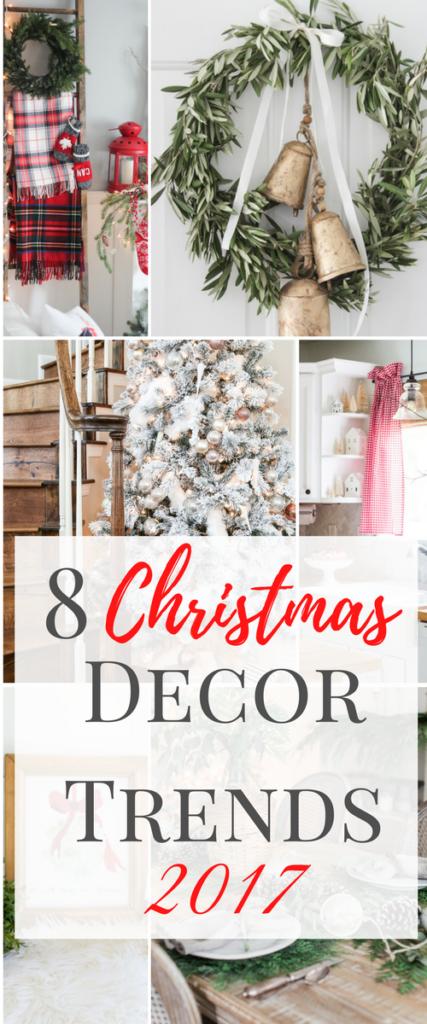 8 Christmas Decor Trends 2017, christmas decor, christmas trends, holiday decor, holiday decor trends