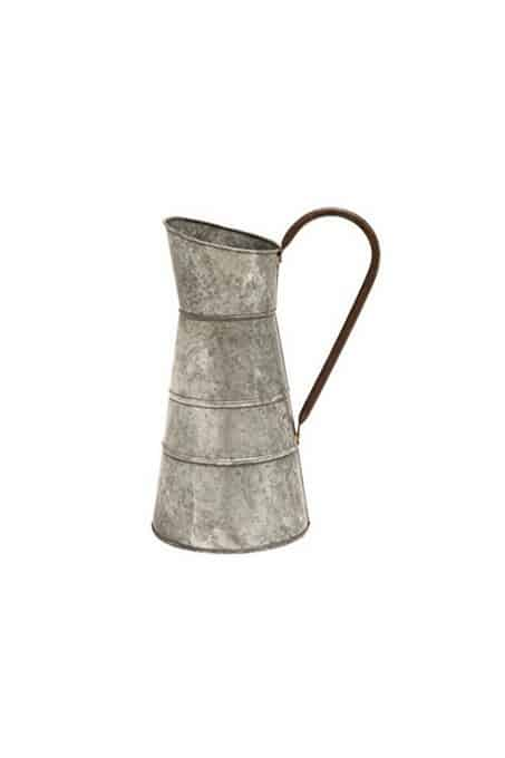 Galvanized Pitcher, farmhouse decor gift guide