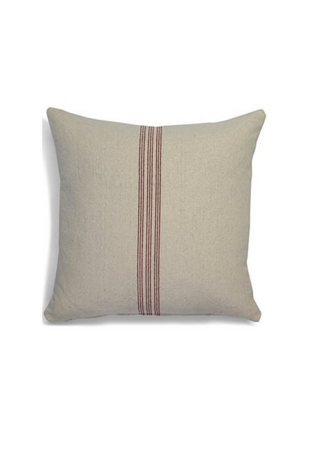 Grain Sack Pillow, farmhouse decor gift guide
