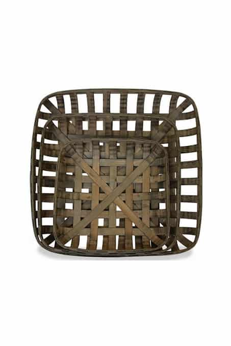 Tobacco Baskets, farmhouse decor gift guide