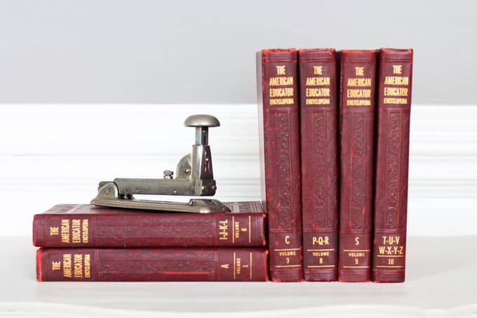Super Diy Vintage Books Restoration Hardware Inspired Life On Download Free Architecture Designs Lukepmadebymaigaardcom