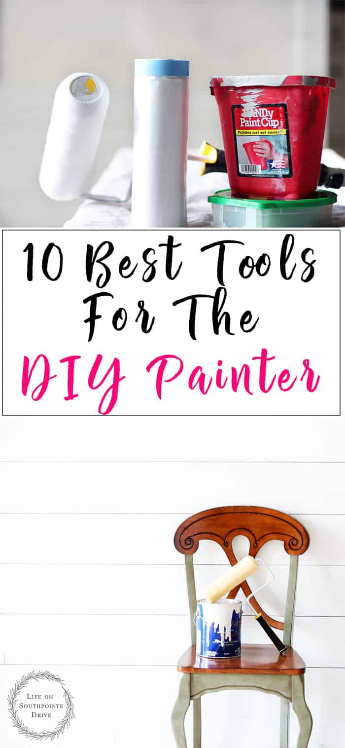 Tools-for-the-DIY-Painter, DIY Painting tools, tips for diy painting, tips and tools for diy painting, tools for painting walls, tools for interior painting, interior painting tips #diypaintingtips #interiorpainting