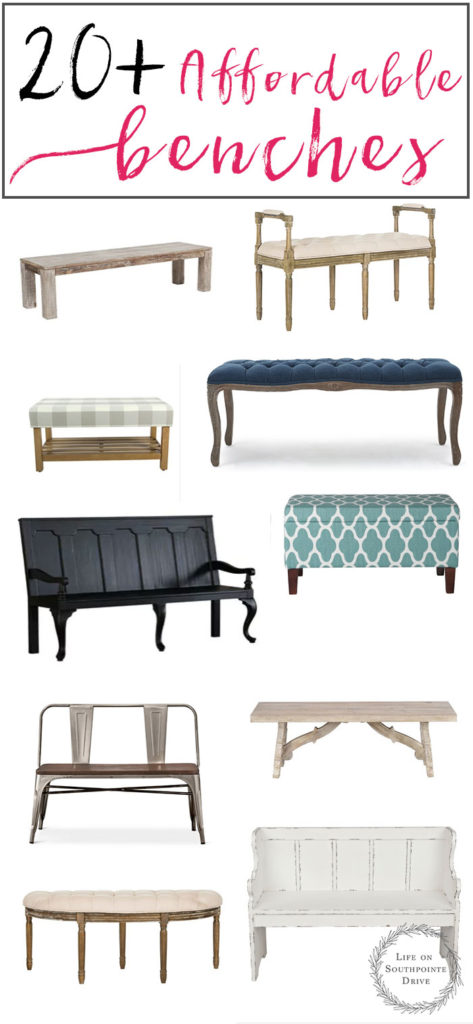 20 Affordable Benches