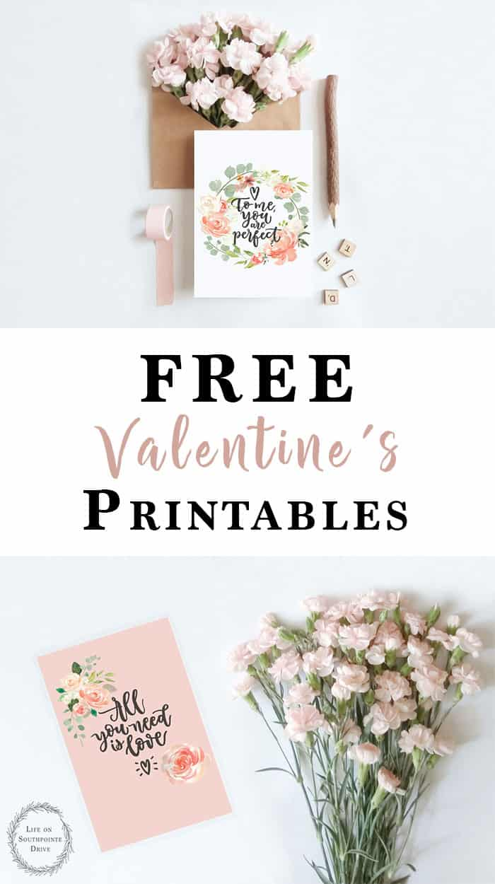 graphic about Free Printable Valentine Cards for Adults identify Totally free Printable Valentines Playing cards - Everyday living upon Southpointe Inspiration