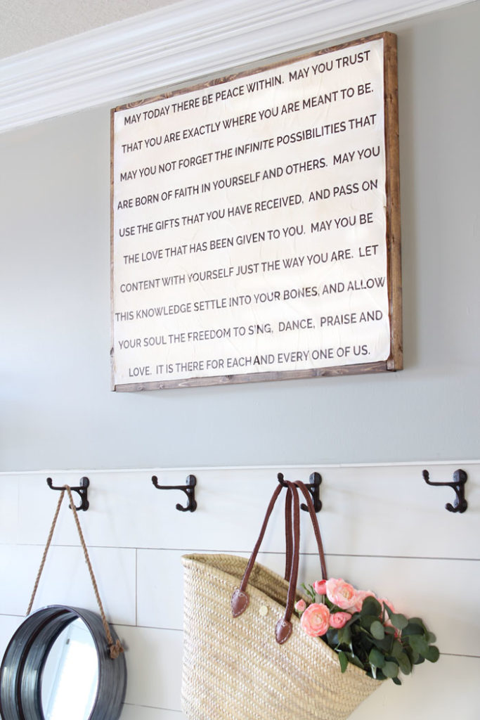 DIY Quote Sign