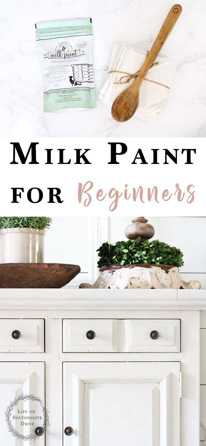 How to use milk paint