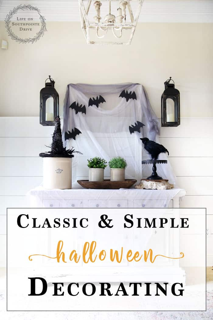 Classic and Simple Halloween Decorating - Simple Halloween Decorating - Halloween Decor