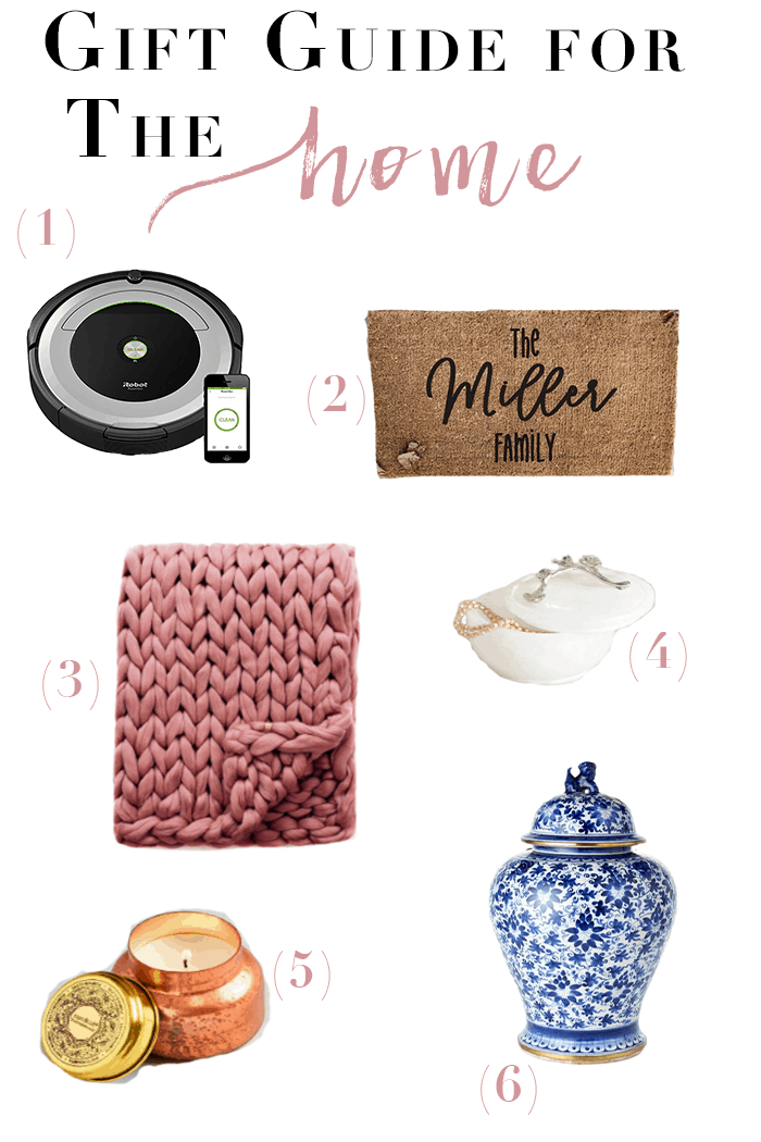 Gift Ideas for the Home | Your home decor lover is sure to love these gift ideas for the home! #homedecor #giftguide #giftideas #holiday gift guide