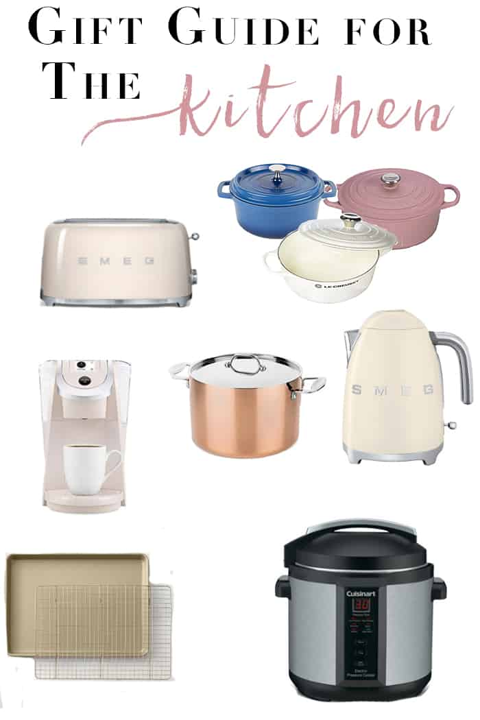 Kitchen Gift Ideas | Who says a kitchen gadget can't be stylish?! The kitchen gadget lover on your list will fall hard for these gift ideas!