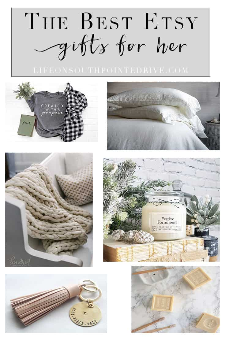 Etsy Holiday Gift Guide for Her - Life on Southpointe Drive
