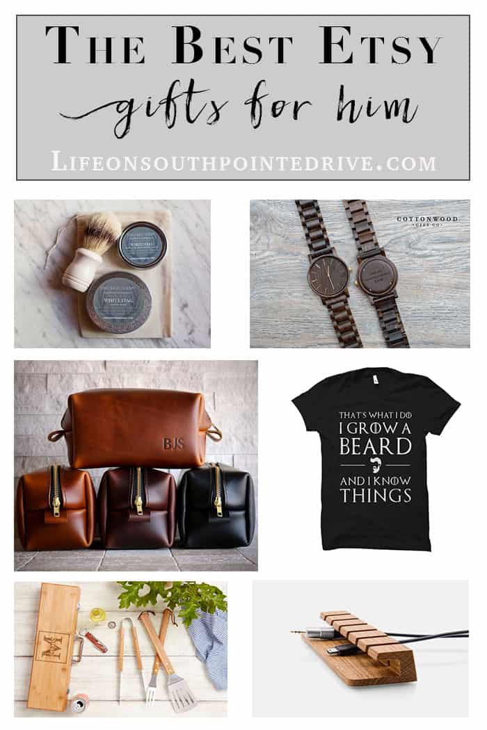 Gift Guide for Men | These are so many great ideas on gifts for men! You are sure to find something on this list for the man in your life!