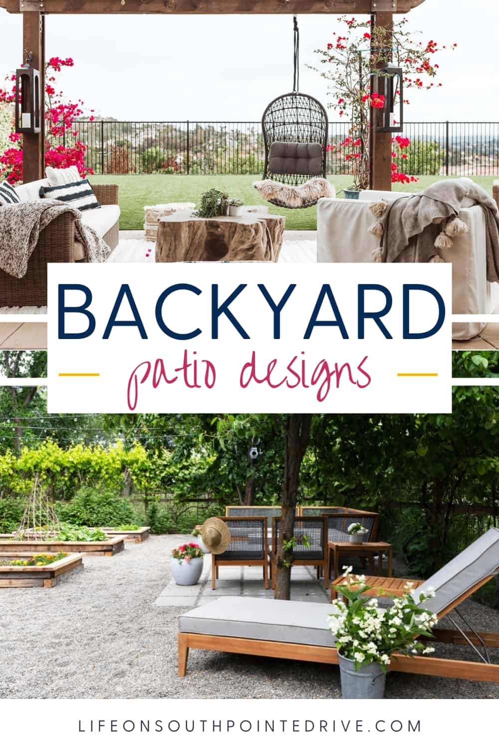 16 Beautiful Backyard Patio Designs Life On Southpointe Drive