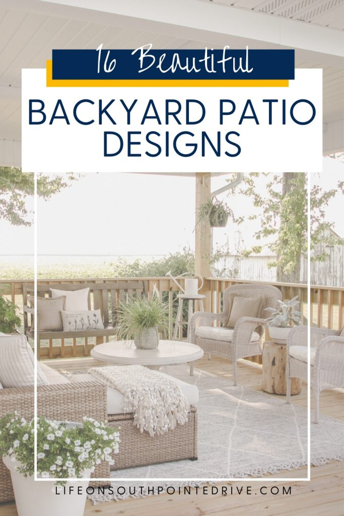 Beautiful Backyard Patio Designs