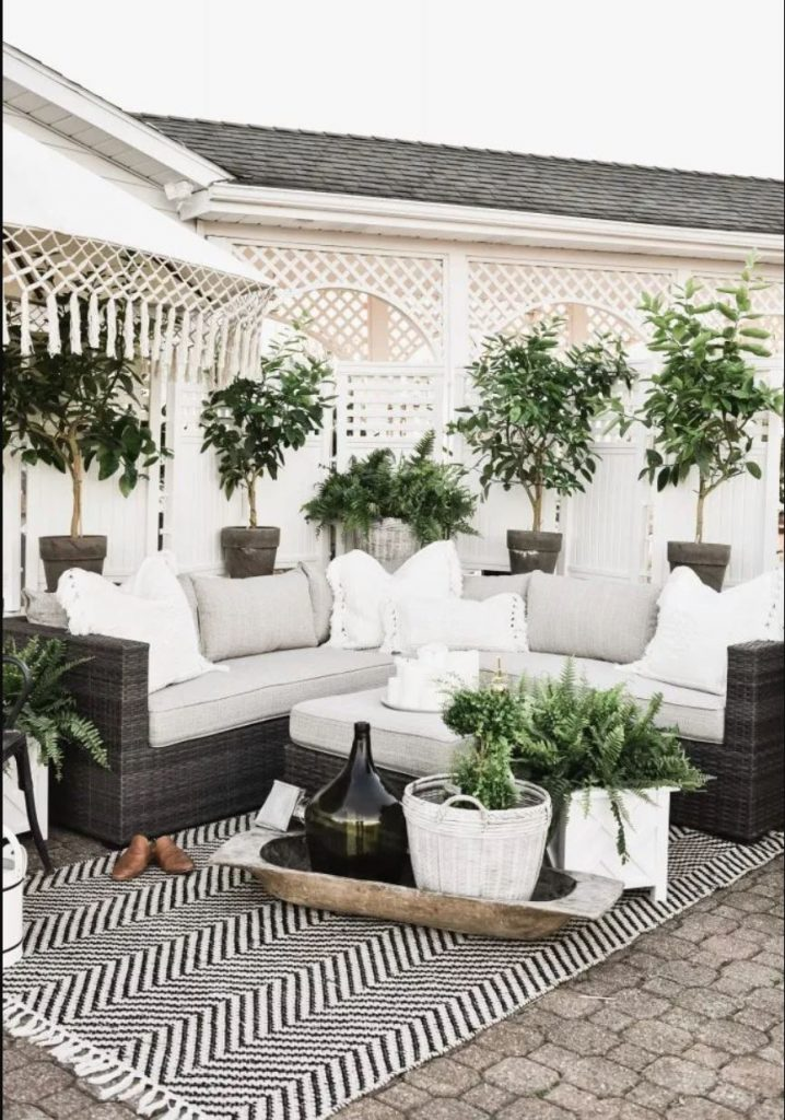 Image of: 16 Beautiful Backyard Patio Designs Life On Southpointe Drive