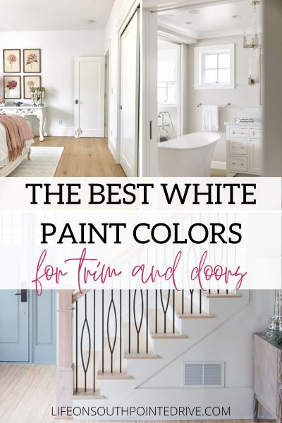 Best White for Trim & Doors