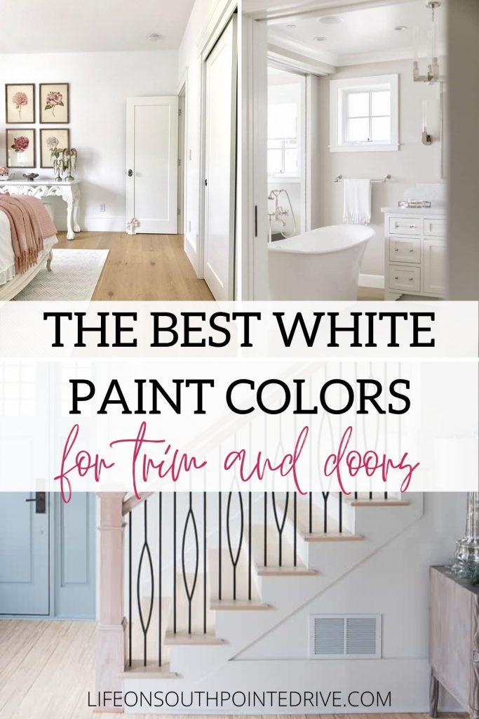 Best White for Trim & Doors