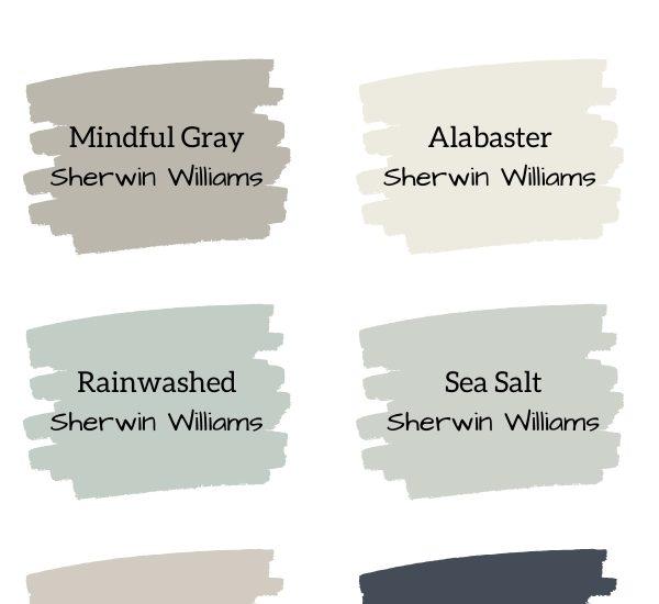 Most Popular Farmhouse Paint Colors