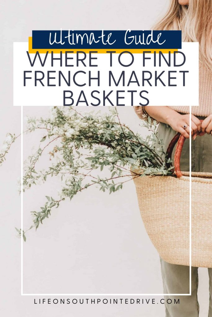 Where to Buy French Market Baskets