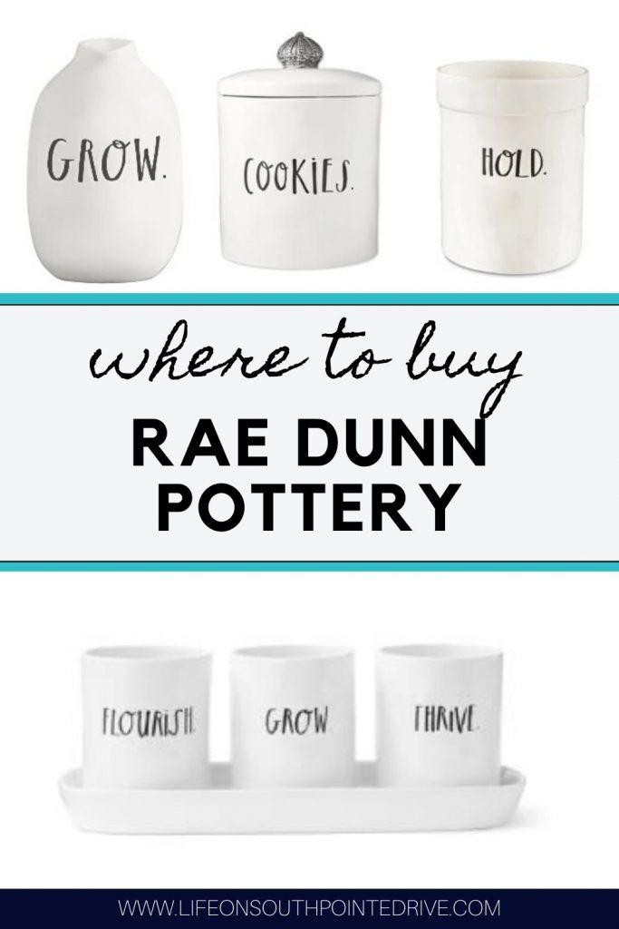Where to Buy Rae Dunn Pottery