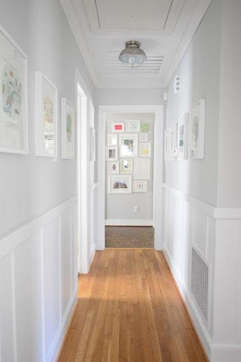 Decorators White Board & Batten
