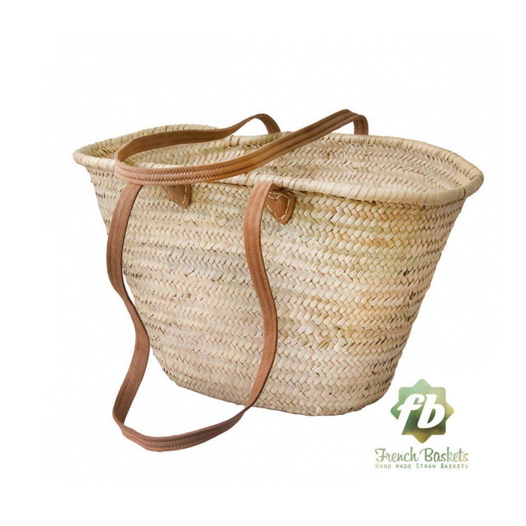 Straw Handmade Moroccan Basket