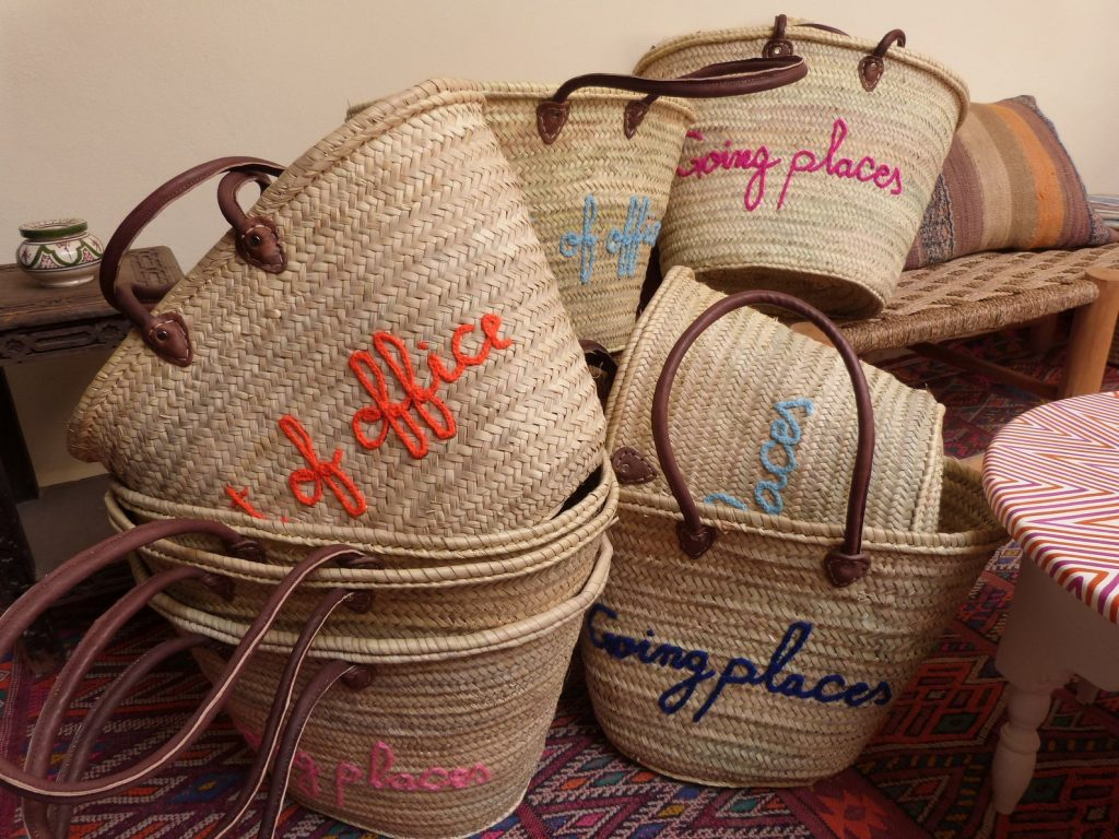 Moroccan Straw Bags