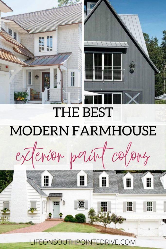 Farmhouse Exterior Paint Colors
