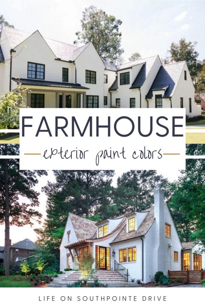 Most Popular Exterior Paint Colors Modern Farmhouse Paint Colors