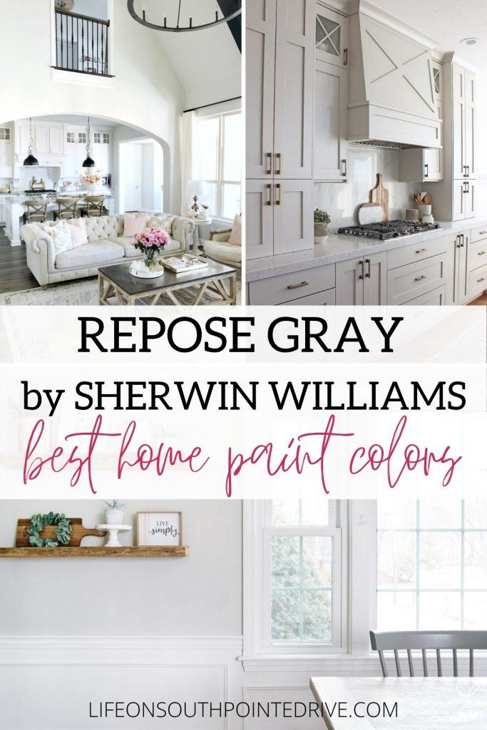Sherwin Williams Repose Gray