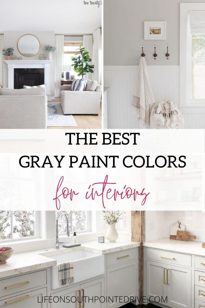Best Interior Gray Paint Colors